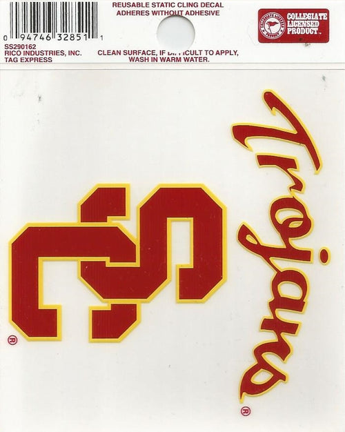 "USC Trojans NCAA College 3"" x 4"" Decal - Dynasty Sports & Framing"