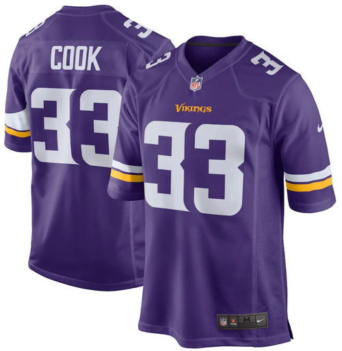 Dalvin Cook Nike Purple Game Player Jersey - Dynasty Sports & Framing