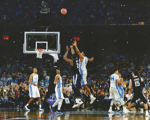 Villanova Wildcats 2016 NCAA Finals Kris Jenkins Buzzer Beater Basketball Photo (Horizontal) - Dynasty Sports & Framing