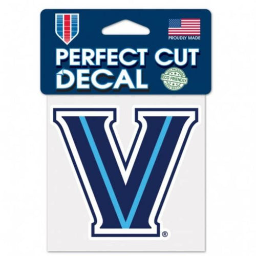 "Villanova Wildcats NCAA College 4"" x 4"" Decal - Dynasty Sports & Framing"