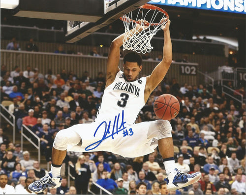 "Villanova Wildcats Josh Hart Dunk Autographed College Basketball 11"" x 14"" Photo"