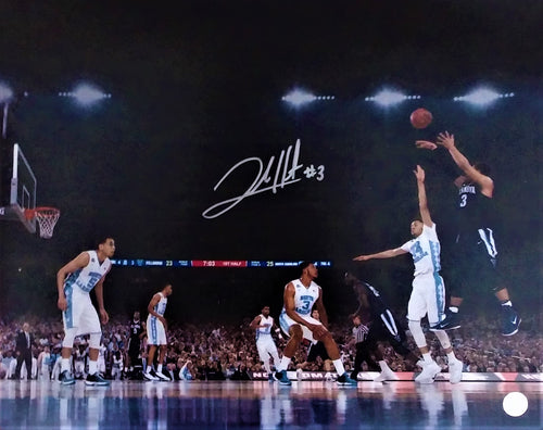 Villanova Wildcats Josh Hart Shoot Autographed College Basketball Photo