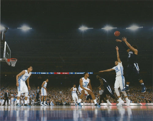 "Villanova Wildcats 2016 NCAA Finals Josh Hart Shoot Basketball 8"" x 10"" Photo - Dynasty Sports & Framing"