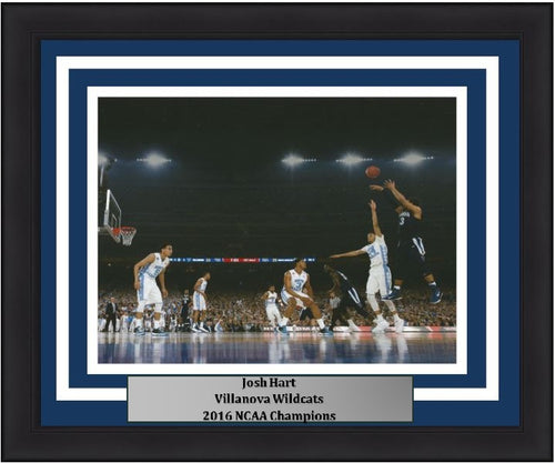 "Villanova Wildcats 2016 NCAA Finals Josh Hart Shoot Basketball 8"" x 10"" Framed and Matted Photo - Dynasty Sports & Framing"