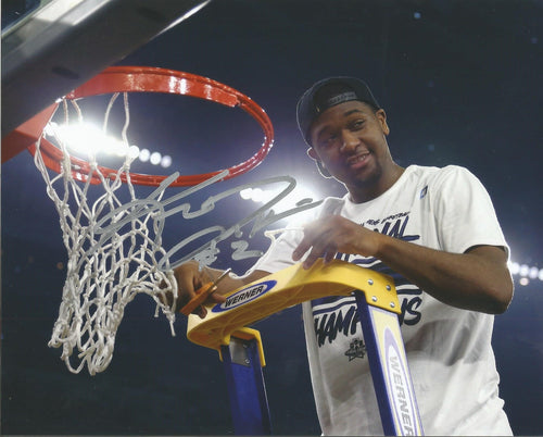 "Kris Jenkins Villanova Wildcats 2016 NCAA Champions Cutting the Net Autographed 8"" x 10"" Photo - Dynasty Sports & Framing"