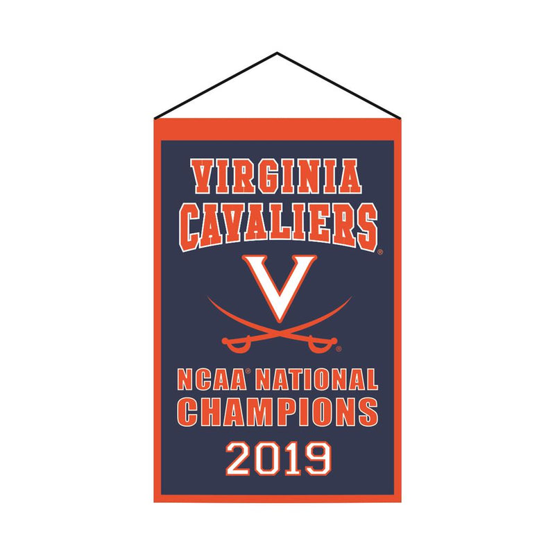 Virginia Cavaliers 2019 NCAA National Champions Championship Banner