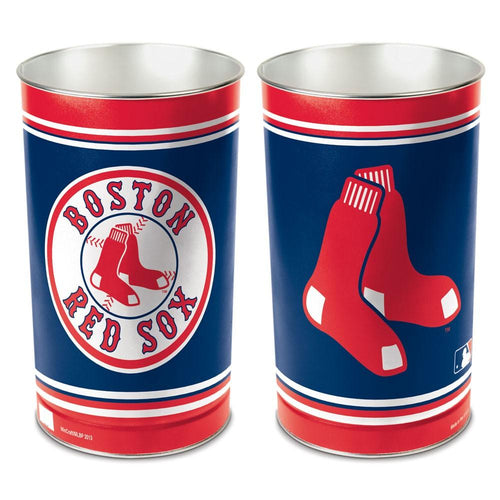 Boston Red Sox MLB Trash Can