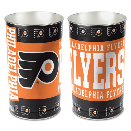 Philadelphia Flyers NHL Trash Can
