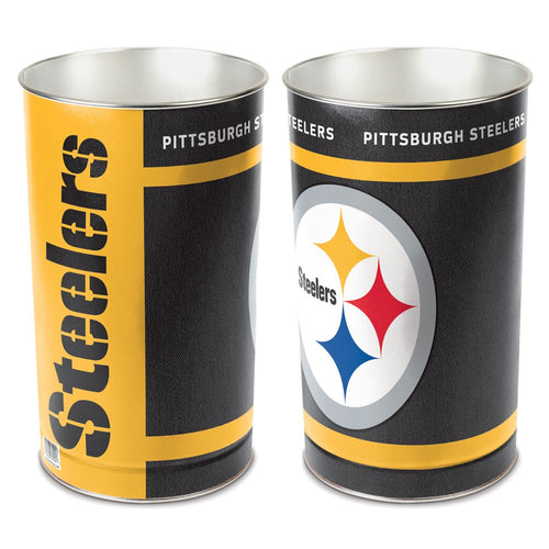 Pittsburgh Steelers NFL Trash Can
