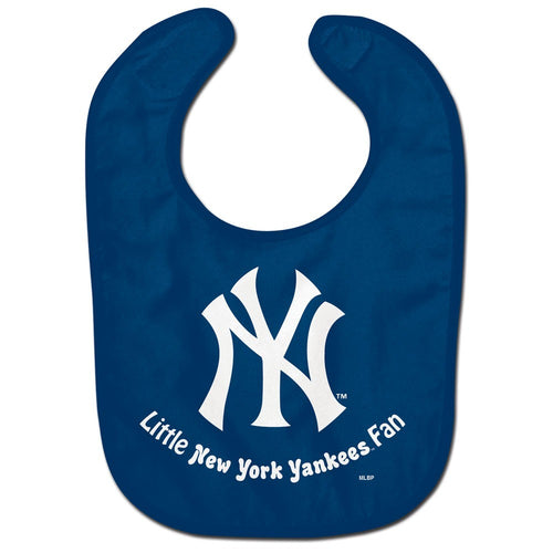 New York Yankees MLB Baseball Baby Bib