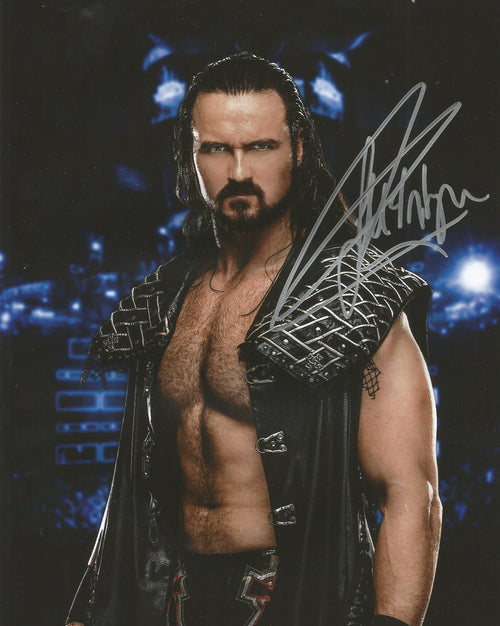 "Drew McIntyre Autographed WWE Wrestling Profile 16"" x 20"" Photo"