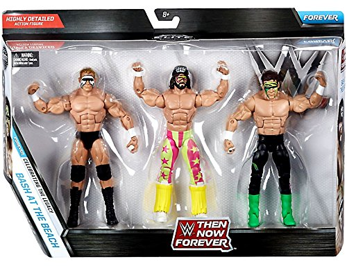 "WWE Then, Now & Forever Bash At The Beach 3-Pack (Lex Luger, Sting, ""Macho Man"" Randy Savage)"