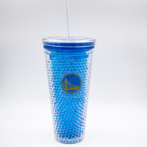 Golden State Warriors NBA Basketball Freezer Sip-N-Go Tumbler - Dynasty Sports & Framing