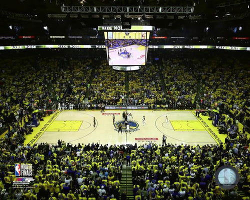 "Golden State Warriors 2018 NBA Finals Oracle Arena, Game 1 NBA Basketball 8"" x 10"" Stadium Photo"
