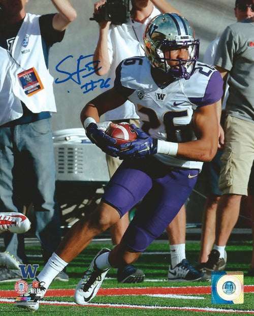 Sidney Jones University of Washington Autographed NCAA College Football 8x10 Photo