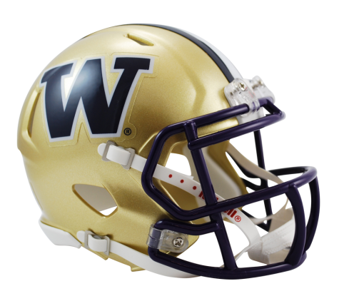 Washington Huskies NCAA College Riddell Speed Mini-Helmet