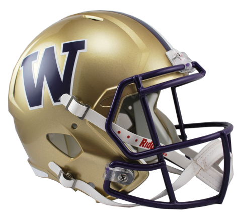 Washington Huskies NCAA College Riddell Speed Full-Size Replica Helmet