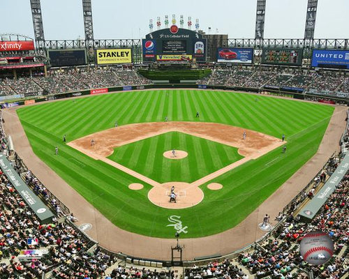 "Chicago White Sox Guaranteed Rate Field Stadium MLB Baseball 8"" x 10"" Photo"