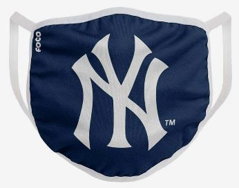 New York Yankees Solid Big Logo Face Cover Mask - Dynasty Sports & Framing