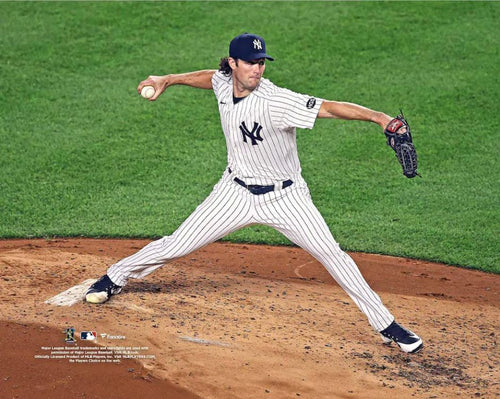"Gerrit Cole in Action New York Yankees 8"" x 10"" Baseball Photo - Dynasty Sports & Framing"