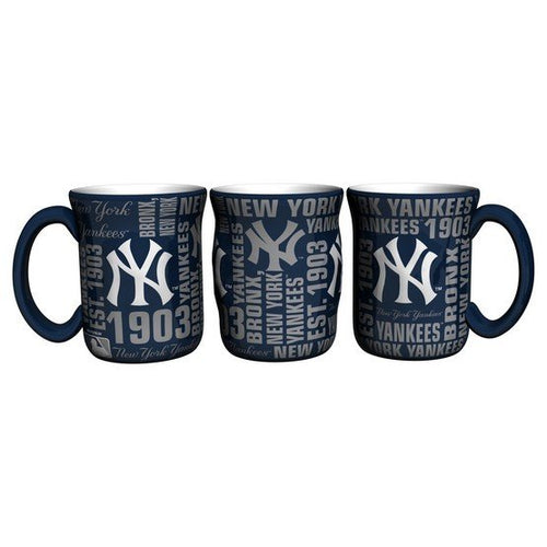 New York Yankees Baseball 17 oz. Spirit Mug - Dynasty Sports & Framing
