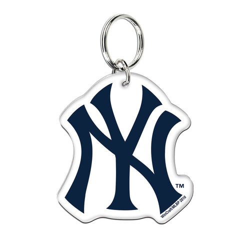 New York Yankees MLB Baseball Acrylic Logo Keychain