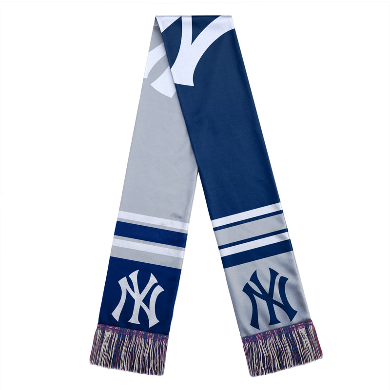 New York Yankees MLB Baseball Color Block Scarf - Dynasty Sports & Framing
