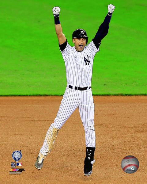 "New York Yankees Derek Jeter Final Game at Yankee Stadium Walk-Off Celebration 8"" x 10"" Photo - Dynasty Sports & Framing"