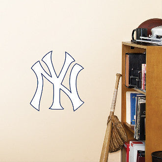 New York Yankees Logo MLB Baseball Fathead - Dynasty Sports & Framing