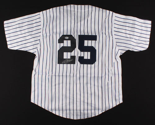 Gleyber Torres New York Yankees Autographed Pinstripe Baseball Jersey - Dynasty Sports & Framing
