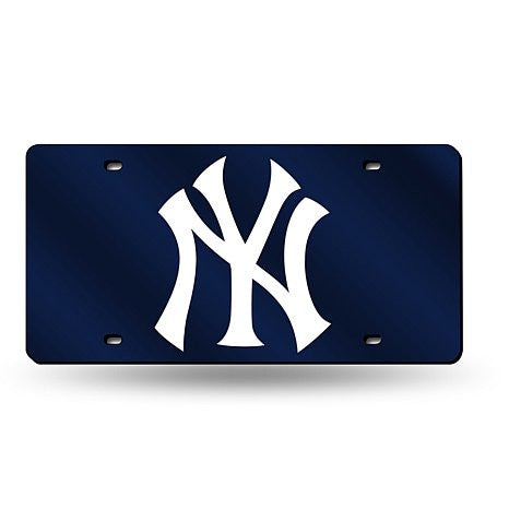 New York Yankees Laser Cut License Plate - Dynasty Sports & Framing