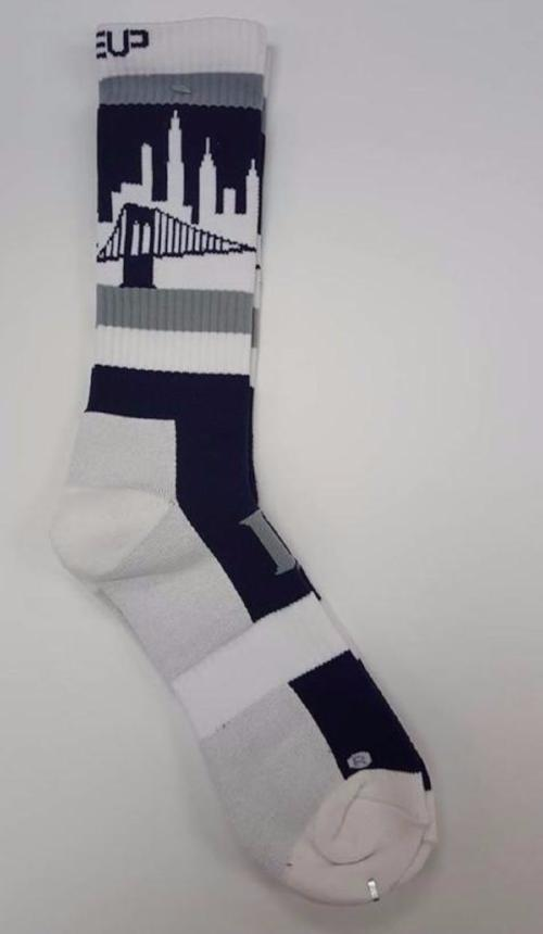 New York Lineup Skyline Socks | Sports Socks, Apparel, and ...