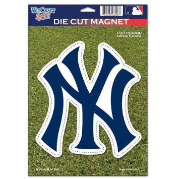 New York Yankees Die-Cut Magnet - Dynasty Sports & Framing