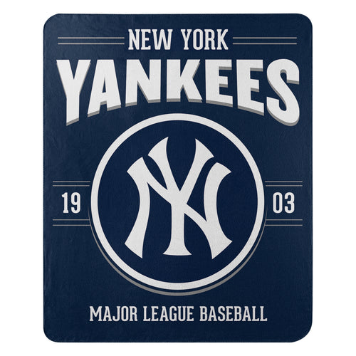 New York Yankees Southpaw Fleece Throw Blanket - Dynasty Sports & Framing