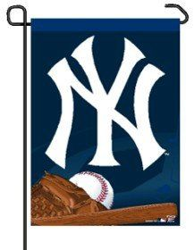 New York Yankees MLB Baseball Small Garden Flag
