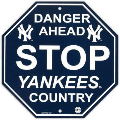 New York Yankees Stop Sign - Dynasty Sports & Framing