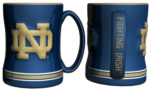 Notre Dame Fighting Irish NCAA College Logo Mug - Dynasty Sports & Framing