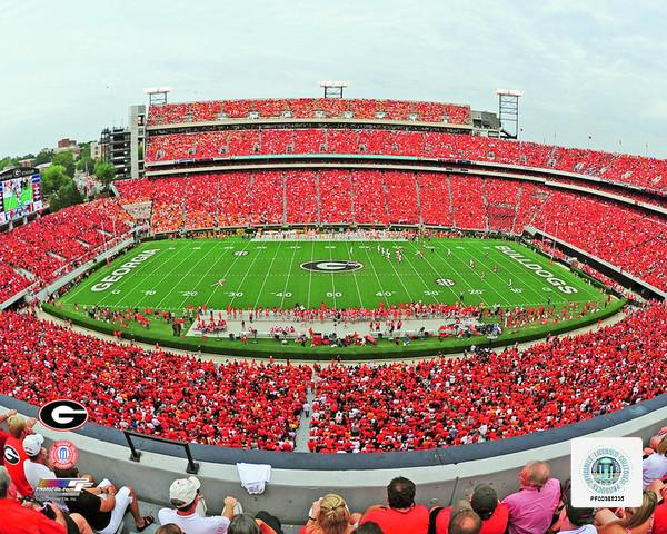 "Georgia Bulldogs Sanford Stadium NCAA College Football 8"" x 10"" Photo"