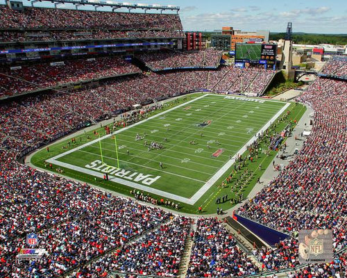 "New England Patriots Gillette Stadium NFL Football 8"" x 10"" Photo - Dynasty Sports & Framing"