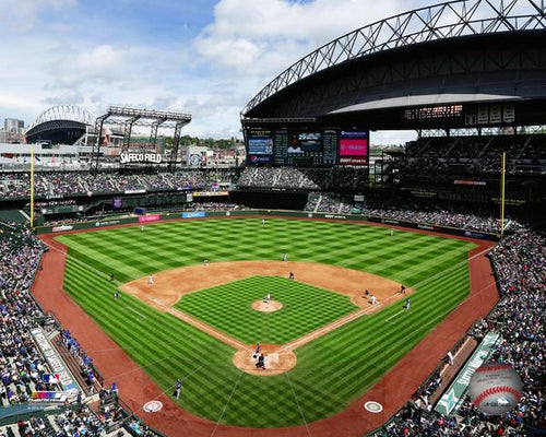 "Seattle Mariners Safeco Field MLB Baseball 8"" x 10"" Stadium Photo"