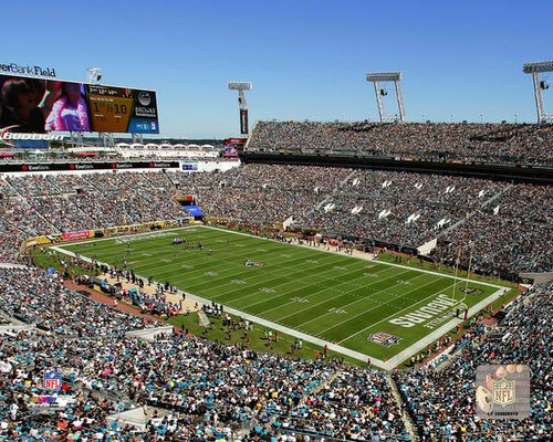 "Jacksonville Jaguars EverBank Field NFL Football 8"" x 10"" Stadium Photo - Dynasty Sports & Framing"