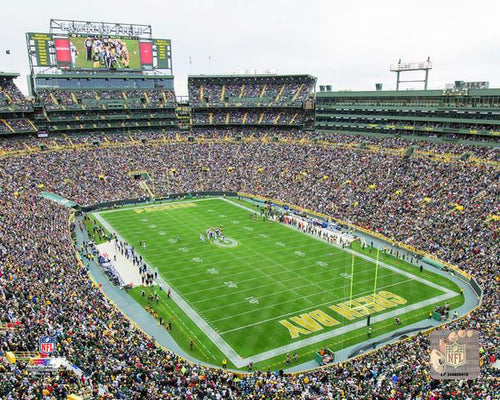 "Green Bay Packers Lambeau Field 8"" x 10"" Football Stadium Photo - Dynasty Sports & Framing"