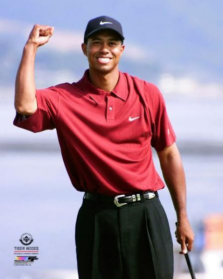 "Tiger Woods 2000 US Open 8"" x 10"" Golf Photo - Dynasty Sports & Framing"