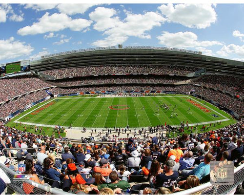 "Chicago Bears Soldier Field NFL Football 8"" x 10"" Stadium Photo - Dynasty Sports & Framing"