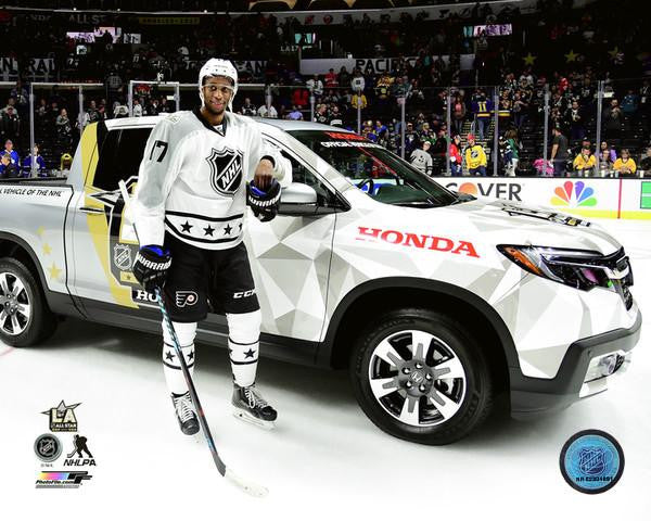"Philadelphia Flyers Wayne Simmonds 2017 NHL All-Star Game MVP Truck 8"" x 10"" Photo - Dynasty Sports & Framing"