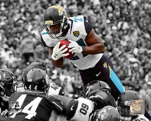 "Jacksonville Jaguars Leonard Fournette Spotlight NFL 8"" x 10"" Photo"