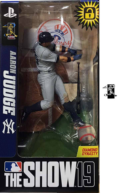 Aaron Judge MLB The Show 19 New York Yankees McFarlane Toys Figure - Dynasty Sports & Framing