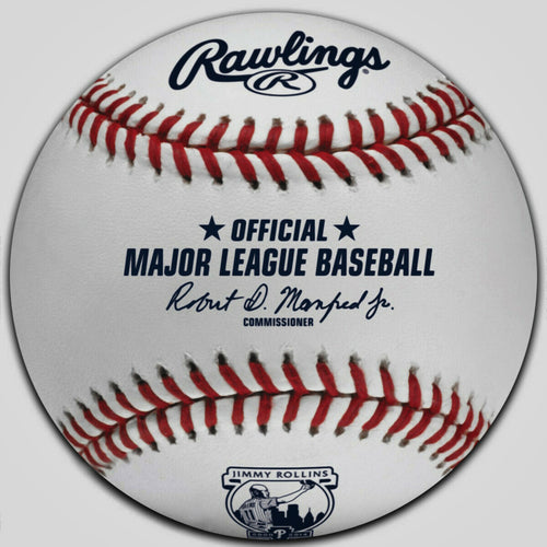 Jimmy Rollins Retirement Ceremony Rawlings Official Major League Baseball