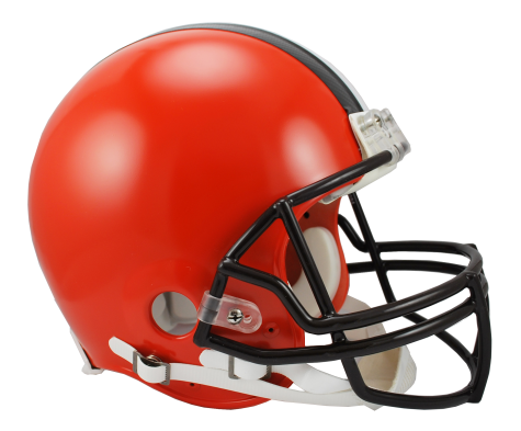 Cleveland Browns Authentic NFL Full-Size Helmet - Dynasty Sports & Framing