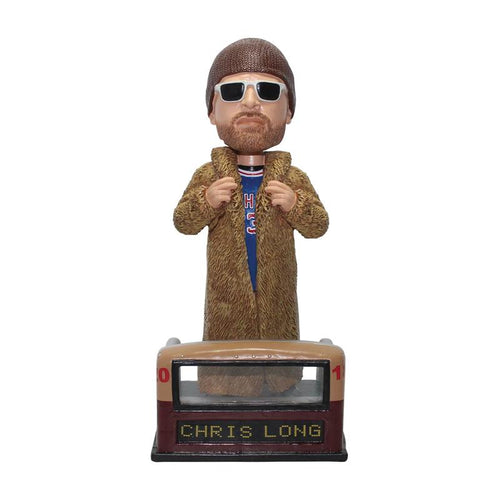Chris Long Fur Coat Philadelphia Eagles Parade Day Bobblehead
